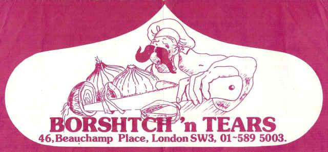 Borshtch 'n' Tears Restraunt