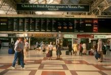 Victoria rail station